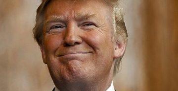 Фредерик и Элизабет Трамп с детьми (Фред крайний слева, Элизабет и Джон)