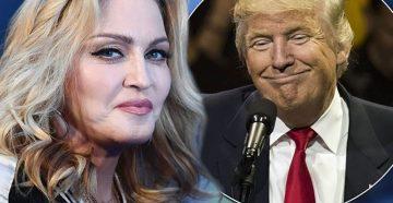 Мадонна против Трампа